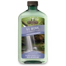 No Work® Daily Shower Cleaner   Aqua Charge® Turns Water Droplets Into Tiny  Scrubbers