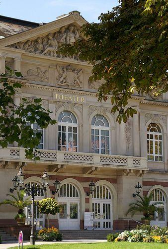 Baden-Baden, Goetheplatz, Theater