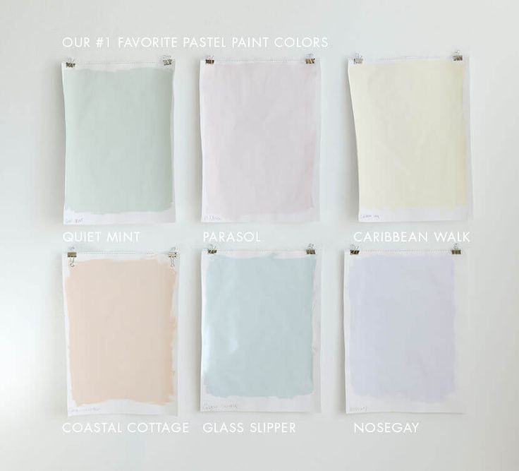 Emily Henderson's 6 Favorite Pastel Paint Colors (For Grown-Ups)
