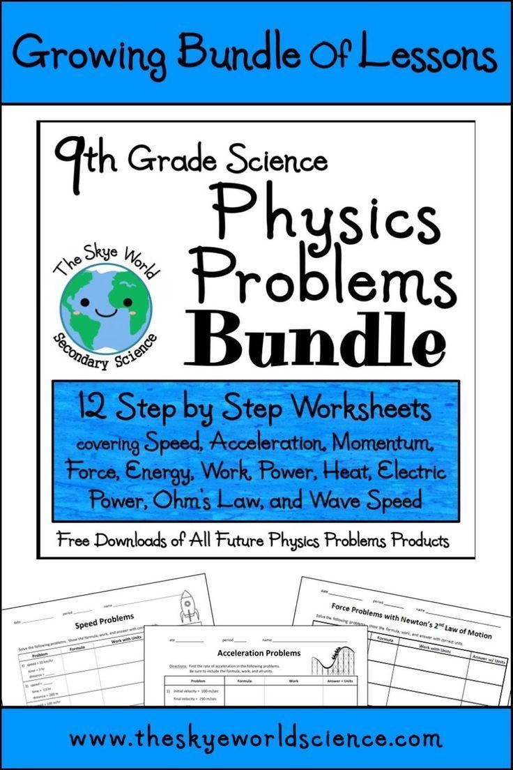 Bundle of Lessons Motion Speed, Acceleration, and