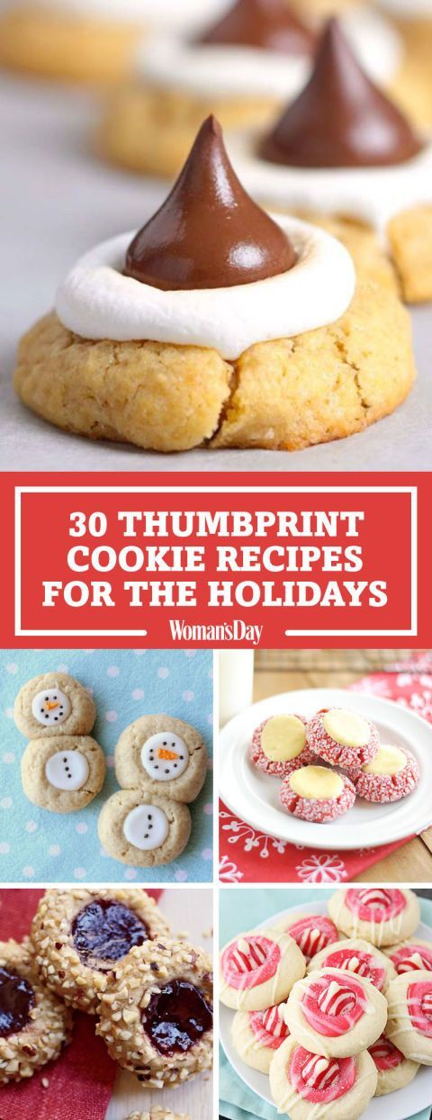 74 best treat yourself images on pinterest recipes desserts and 31 thumbprint cookie recipes perfect for the holidays christmas dessert recipeschristmas sweetschristmas solutioingenieria Image collections