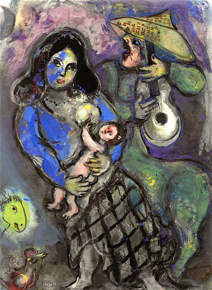 Les 140 meilleures images du tableau marc chagall sur for Chagall tableau