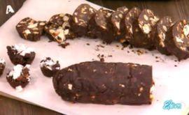 #Σοκολατένιο #μωσαϊκό με #χαλβά #eleni #ελενη #ΒασίληςΚαλλίδης