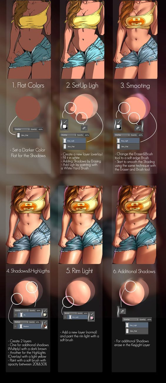 Here is the technique that I use for shading!Hope you'll find it usefull!For the full tutorial check it here: gumroad.com/l/ieZW: