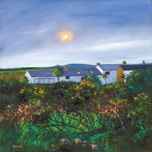 Art Prints Gallery - Cornish Cottages (Limited Edition), £139.00 (http://www.artprintsgallery.co.uk/Davy-Brown/Cornish-Cottages-Limited-Edition.html)