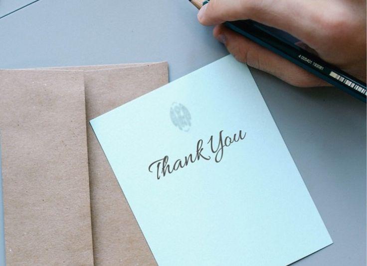 Kiitos voi olla kevyt tai painava sana työnhaussa – näin vaikutat kohteliaisuudella