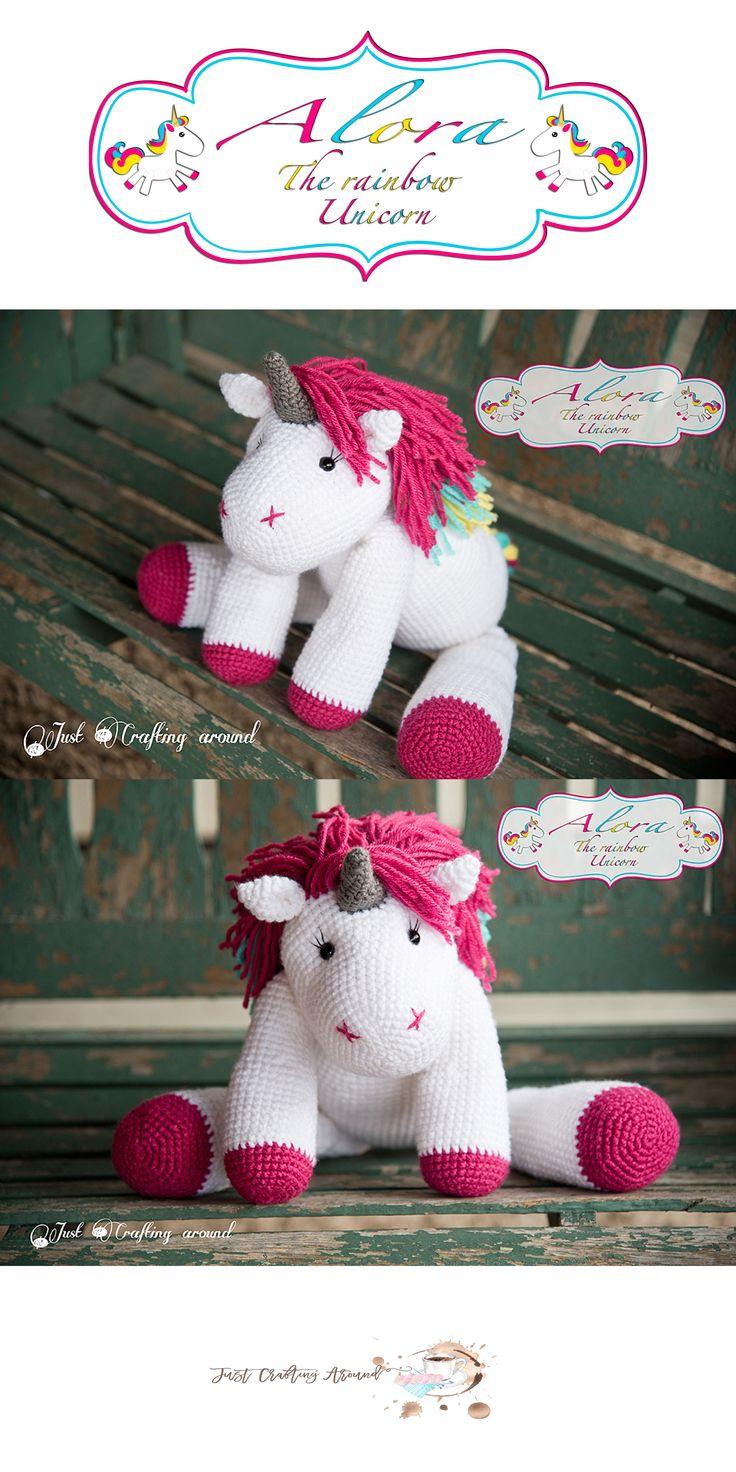 alora-the-unicorn-crochet-pattern, Free crochet pattern, crochet unicorn pattern, alora the crochet unicorn pattern. crochet pattern, amigurumi, stuffed toy, #haken, gratis patroon (Engels), eenhoorn, paard, pony, knuffel, speelgoed, #haakpatroon