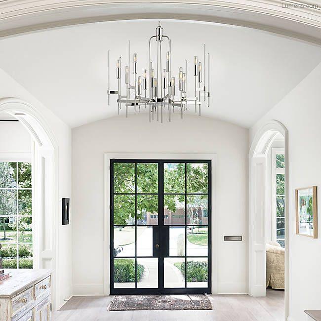 Amanda Carol Interiors White Base Colors Can: Bari Chandelier In 2019
