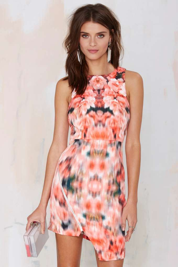 Finders Keepers Way to Go Asymmetrical Dress
