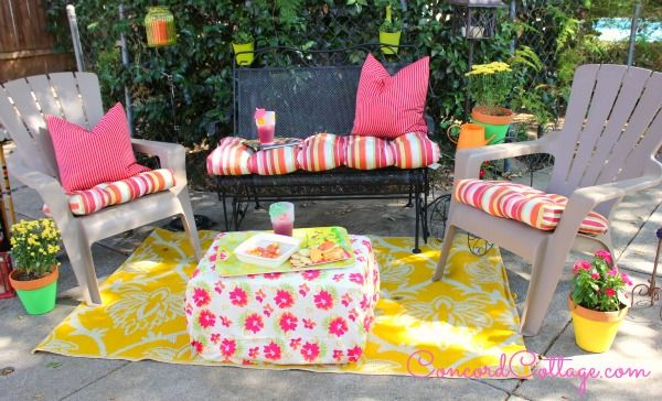 How to Paint $1 Flower Pots and Add Color to Your Backyard :: Hometalk