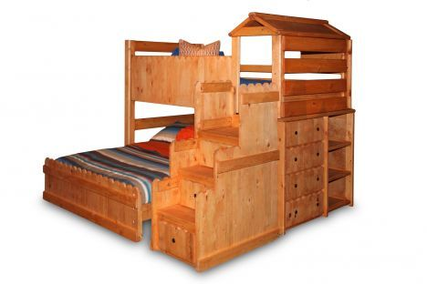 Twood 4200 Fort Ci Trendwood The Fort Loft Bed With