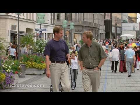 This video, by Rick Steves Europe, shows the Viktualienmarkt, the Biergarten and many other of Munich's attractions.