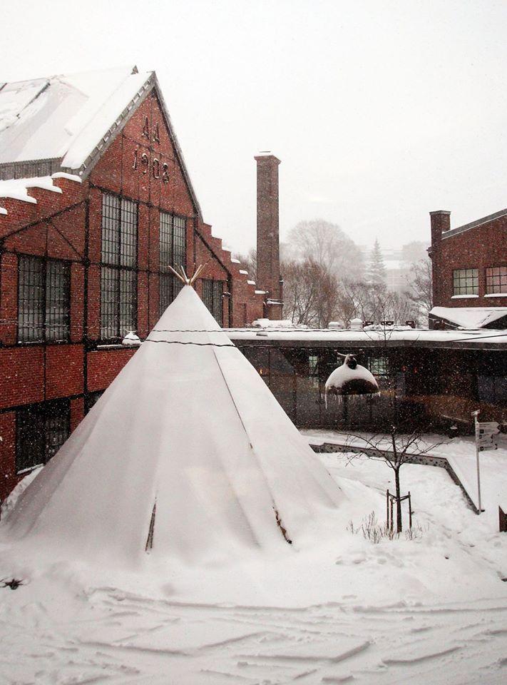 Vinter på Vulkan. Mathallen Oslo