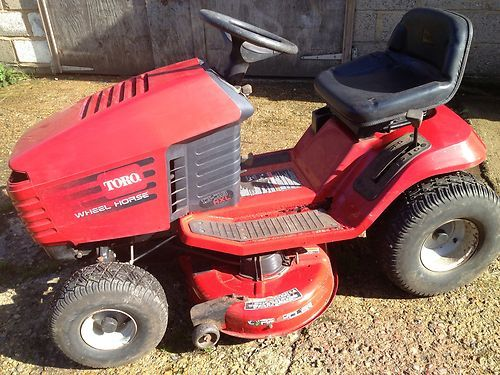 Lawn Mower Ride On Toro Wheel Horse 13 38 Hxl Hydrostatic Works Well Pinterest Horses And Riding Mowers