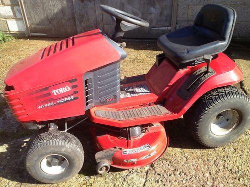 Lawn Mower Ride On Toro Wheel Horse 13 38 Hxl Hydrostatic Works Well