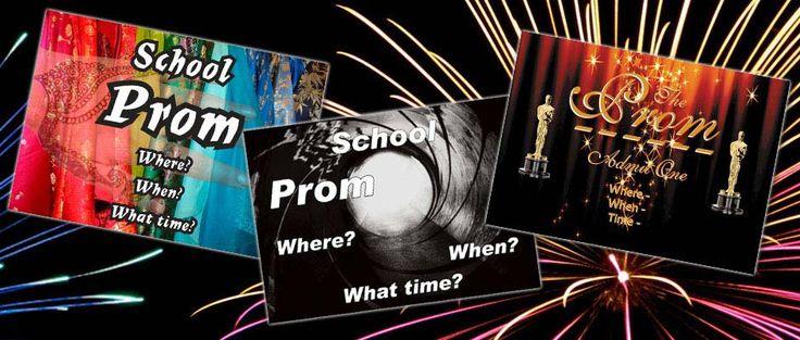 Free school leavers prom tickets