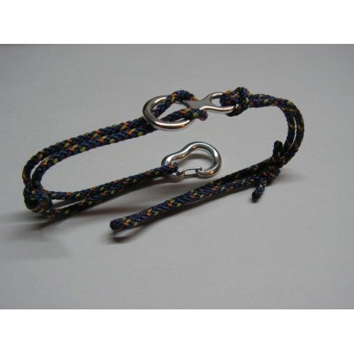 Climbing Bracelet with Figure Eight and Climbing Carabiner