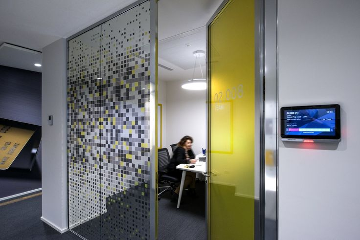 Window Graphics for meeting room designs