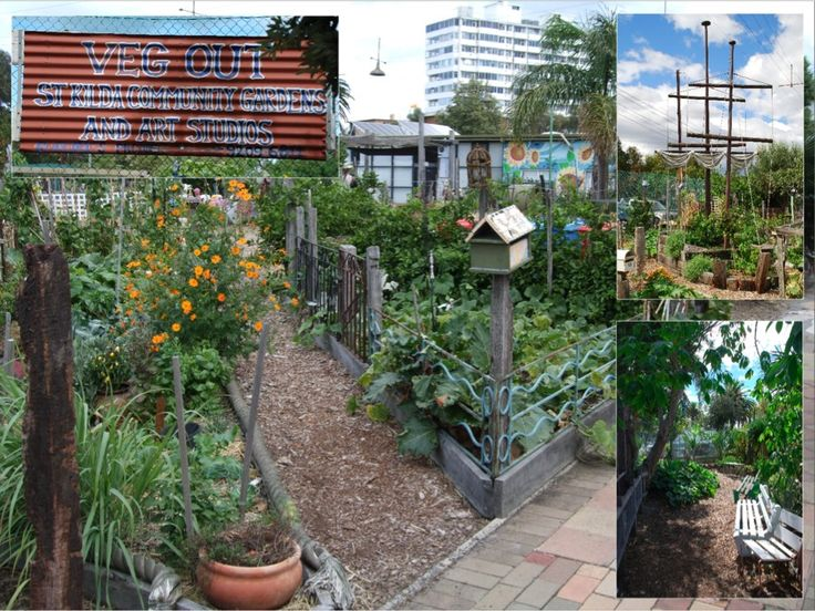 No space to grow your own veggies? Have you thought about joining a community garden? Our vist to Veg Out - St Kilda: http://wp.me/p3qHVr-bI