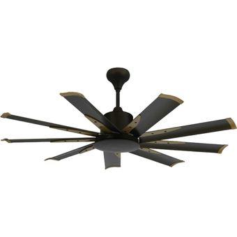Buy Elmark 9he60 60 Inch 9 Blade Remote Ceiling Fan Dc