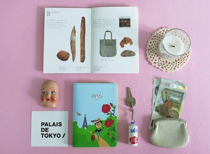 Passport Case Aurore Trip - Made in Korea