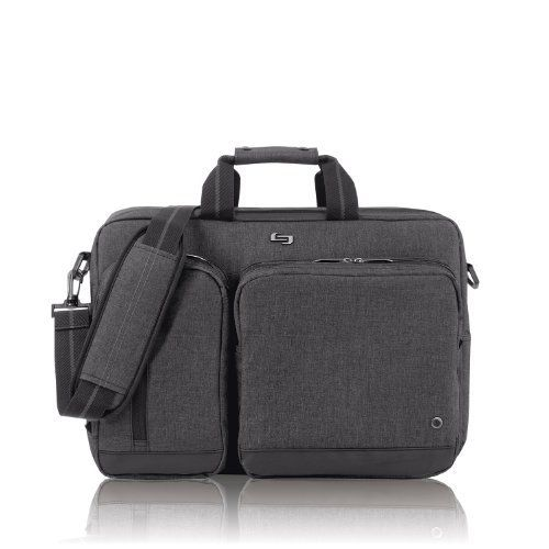 New Trending Briefcases amp; Laptop Bags: SOLO UBN310 15.6-Inch Laptop Hybrid Briefcase Backpack - Grey. SOLO UBN310 15.6-Inch Laptop Hybrid Briefcase Backpack – Grey   Special Offer: $30.94      111 Reviews The Solo 15.6 Laptop Hybrid Briefcase Backpack is versatile and gives off the ultimate urban flare. In a matter of seconds the briefcase can transform into a backpack. You'll enjoy...