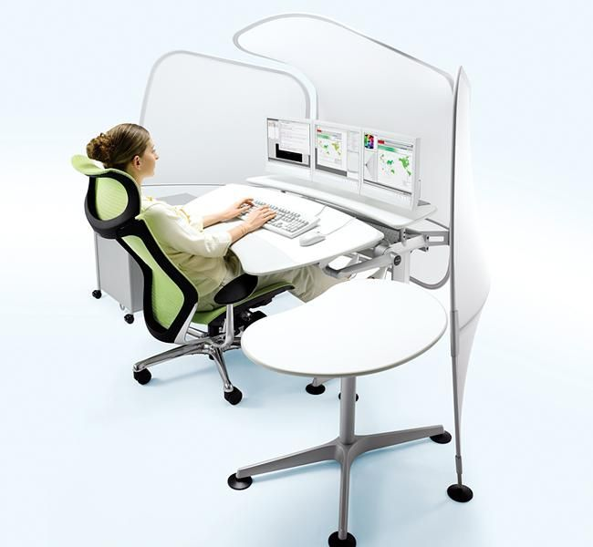 Cruise | UCI Workstation and desk system, by Okamura in Japan. uci.com.au