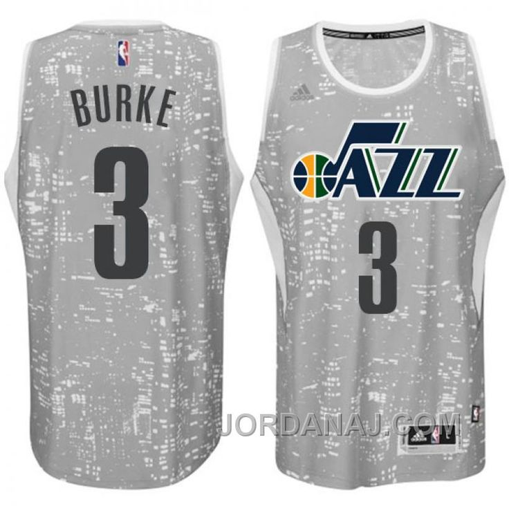 http://www.jordanaj.com/utah-jazz-3-trey-burke-city-lights-gray-swingman-jersey.html UTAH JAZZ #3 TREY BURKE CITY LIGHTS GRAY SWINGMAN JERSEY Only $89.00 , Free Shipping!
