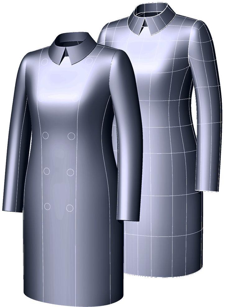 обучение 3D конструированию одежды онлайн