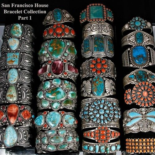 Native American ROYAL Sterling Silver Jewelry Lot Old Pawn + New Turquoise Coral | eBay