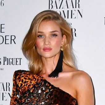 Le blond miel de Rosie Huntington Whiteley