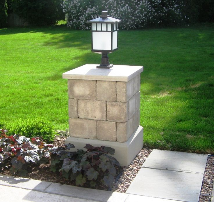Cinder Block Pillars : Best images about columns on pinterest white walls