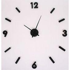 Nástěnné hodiny z černých číslic Maxi