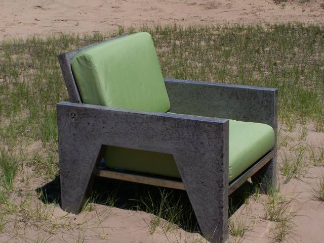 Curt Pieper, Concrete Chair