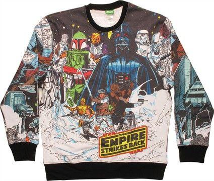Star Wars Comic Hoth Sublimated Sweatshirt