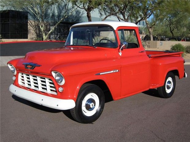 1955 CHEVROLET 3100 PICKUP | I'm Married to a Ford guy...but I could totally rock this!