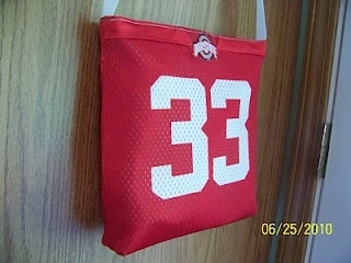 Colors Not Yet Invented: Ohio State Jersey to Bag tutorial