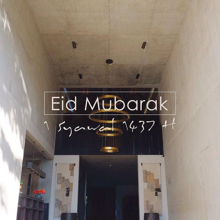 Wishing you all a glorious Eid-ul Fitr day filled with love and peace. Happy Eid Mubarak 1437 H.  Bisma Eight Family and Copper Kitchen & Bar Crew . . . . . #bismaeight #luxury #boutiquehotel #ubud #bali #hotel #bestnewhotel #ubudhotel #ubudbali #lobby #facade #entrance #interior #design #interiordesign #ubudtrip #balitrip #eidmubarak #idulfitri #idulfitri1437h #holiday #vacation #traveling #travel #traveler #instatravel #instatraveling #igtravel #instavacation #travelgram