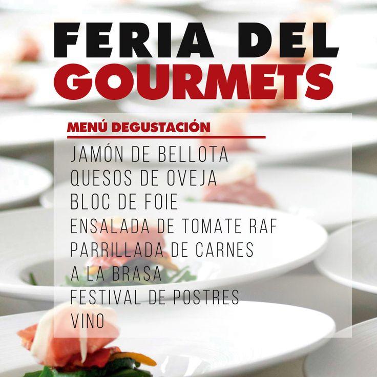 """Sabados Gourmet, vive la experiencia """"Feria del Gourmets"""" con nuestra propuesta gastronómica."""