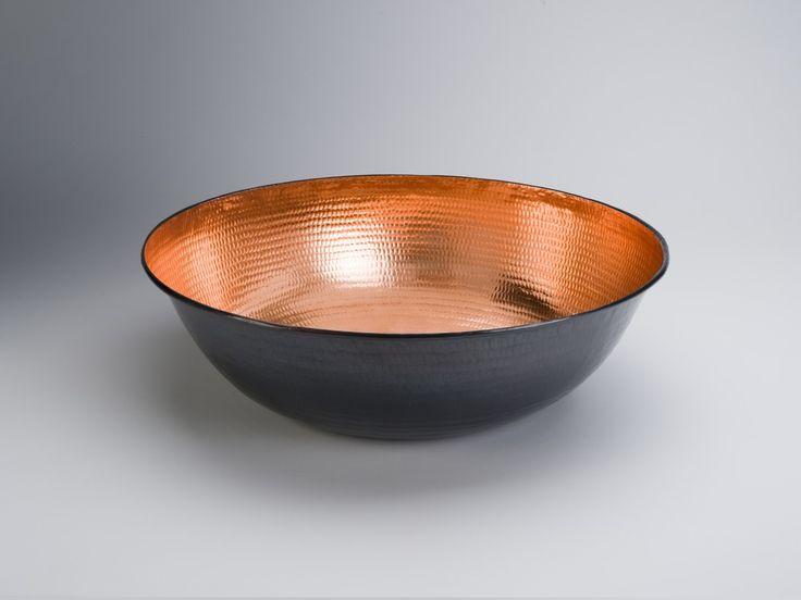 Sofort lieferbar: Amaris Elements runde Schale Kupfer kaufen im borono Online Shop