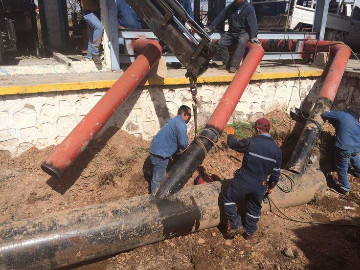 Resuelve JCAS desabasto de agua potable en Aquiles Serdán