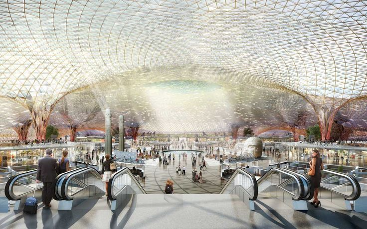 Mexico City International Airport | Projects | Foster + Partners