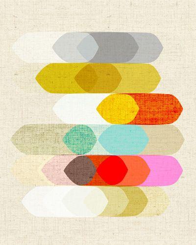 Coda II - Inaluxe Prints - Easyart.com