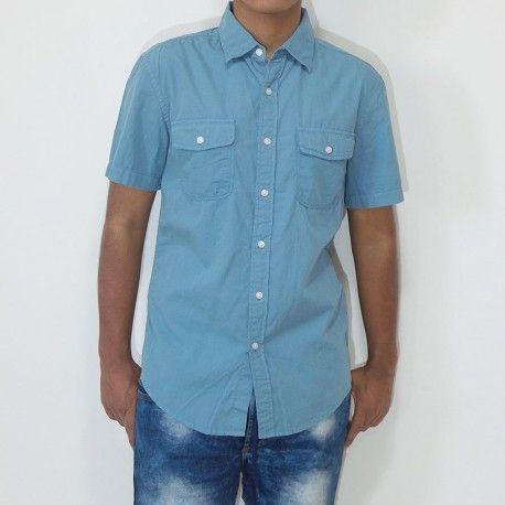 Camisa Sonoma Solid Poplin dos bolsillos