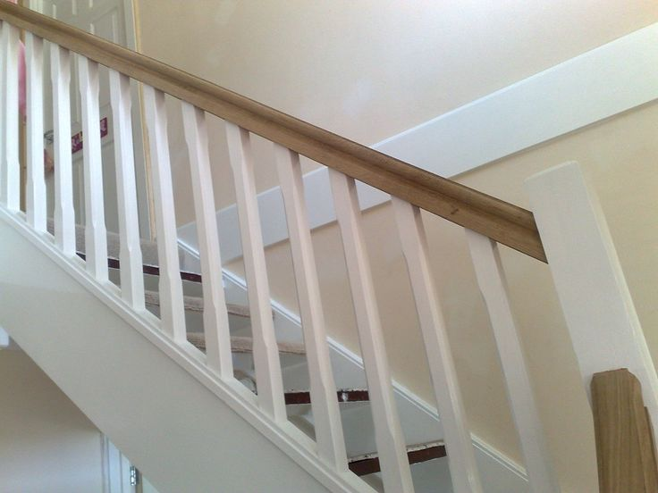stairs with straight spindles - Google Search