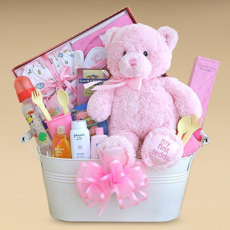 baby gifts | Gift Baskets Created : Baby Girl Gift Basket