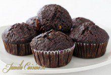 Briose cu ciocolata - reteta video | JamilaCuisine