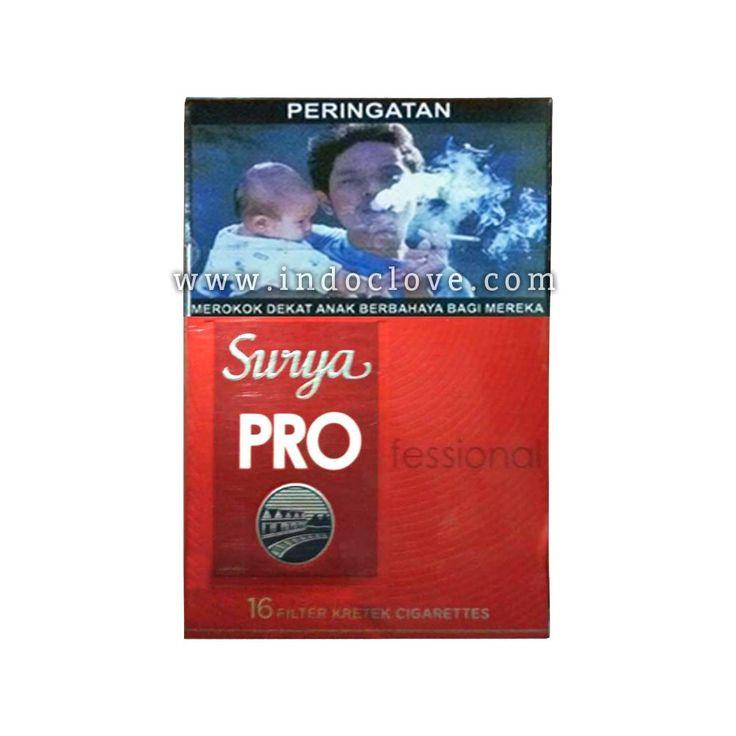 Gudang Garam Surya Pro - Professional 16 Kretek Filter