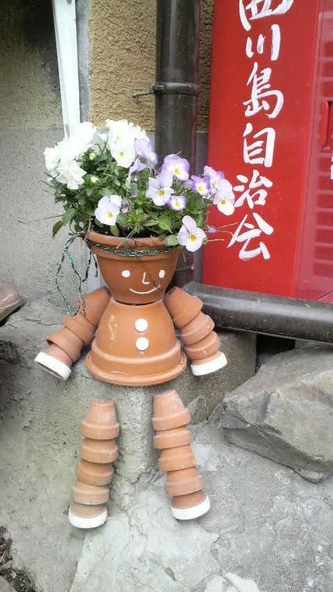 149 Best Images About Clay Pots On Pinterest & Free Download[%size%] Terracotta Flower Pot Men Garden Ornaments ...