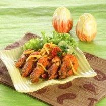 UDANG BAKAR SAUS MANGGA http://www.sajiansedap.com/mobile/detail/15501/udang-bakar-saus-mangga
